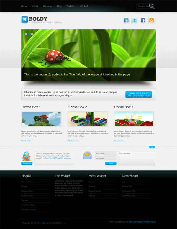 WordPress Themes August 2012