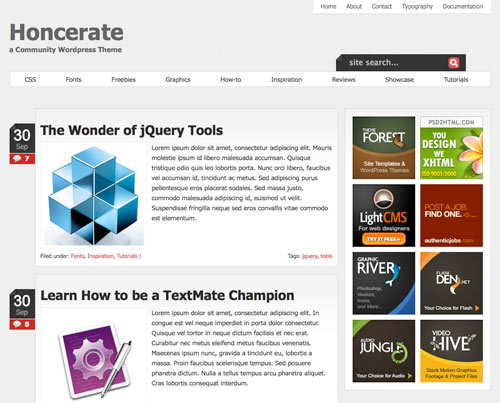 Minimal Portfolio WordPress themes