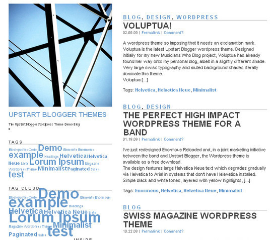 1 Free WordPress Themes August 2012