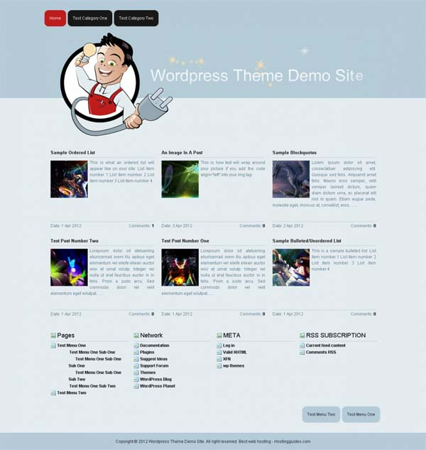 Themes August 2012