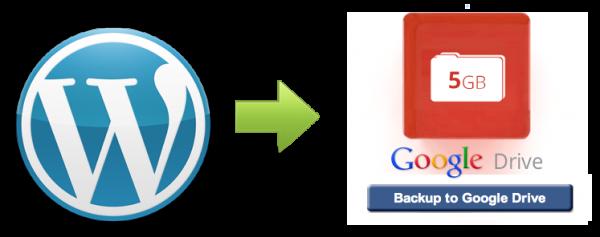 WordPress backup plugin that integrates with Google drive