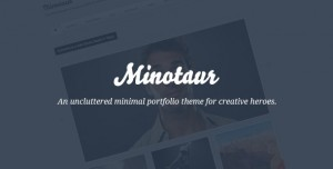 minotaur minimalist theme