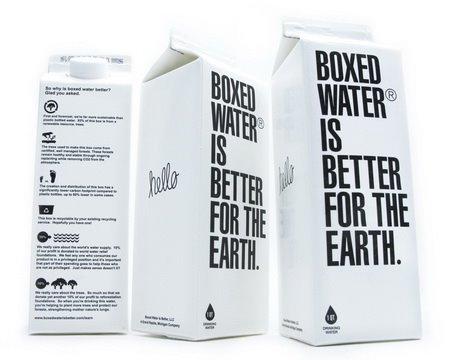 Simple box packaging designs