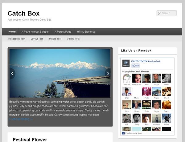 Catch Box WordPress Theme