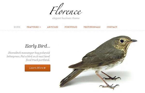 Florence WordPress Theme