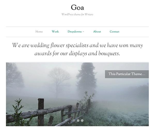 Goa Word Press Themes