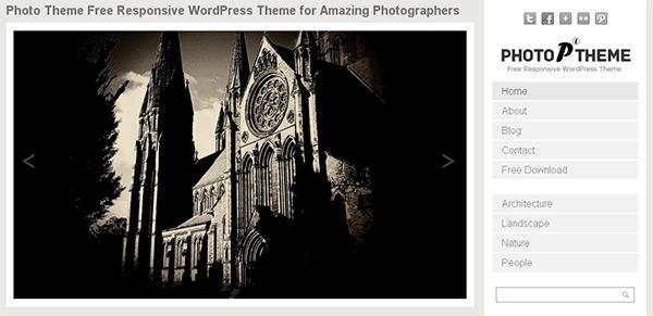 Simple Photo WordPress Theme
