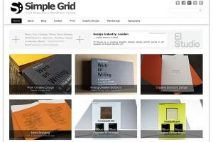 Simple Grid WordPress Theme
