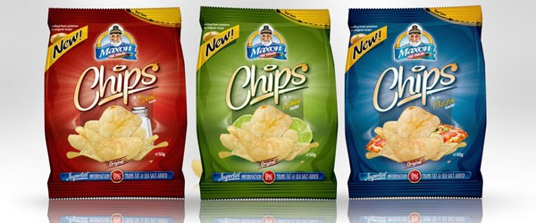 Chips packaging designs