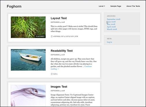 Fonghorn Responsive WordPress Theme