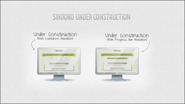 Sindoro under construction template