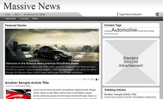 news WordPress themes