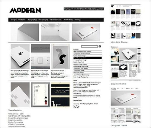 Modern Thumb WordPress Themes
