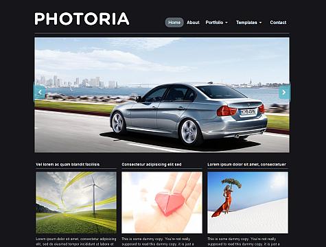 Photoria WordPress Theme