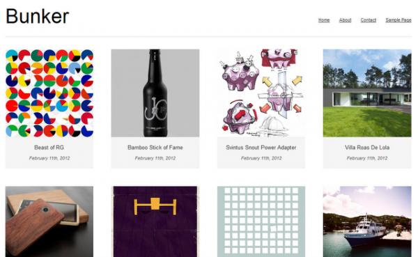 Portfolio Theme for WordPress Theme