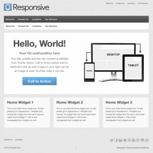 Responsive Simple Theme