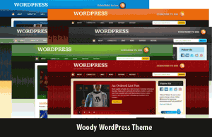 Woody WordPress Theme