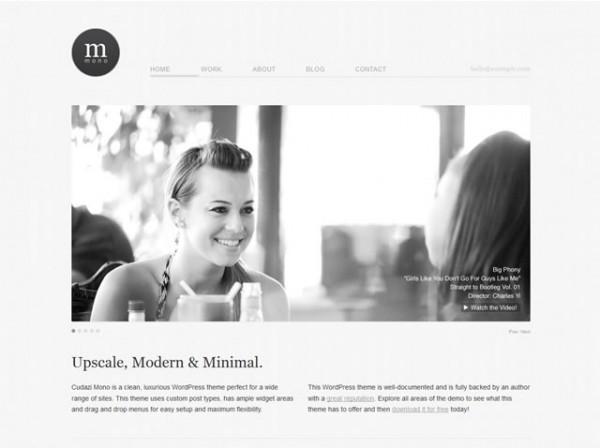 Cudazi Simple WordPress Theme
