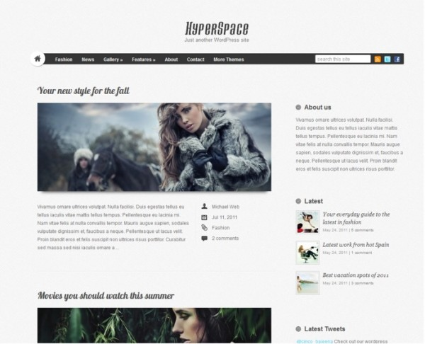 hyperspace wp theme