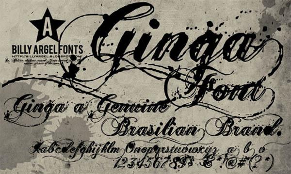 nice script fonts