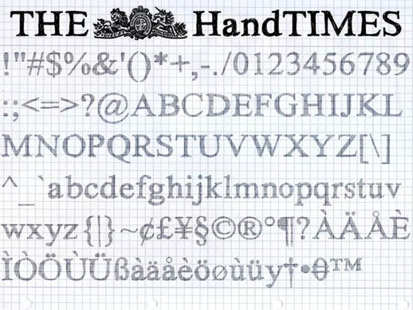 the handtimes