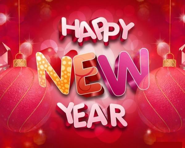 new year card design