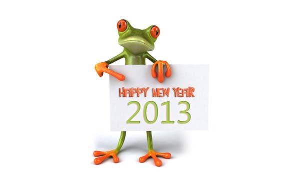 Happy New year 2013 Full HD Wallpaper