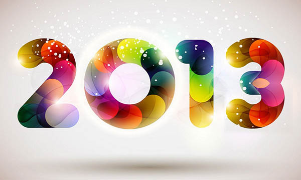 New year 2013 photoshop wallpapers
