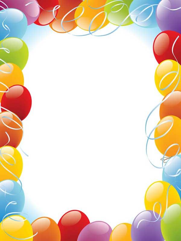 baloon greeting card