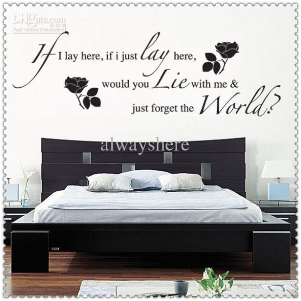 Wall Quotes For Bedroom Themescompany