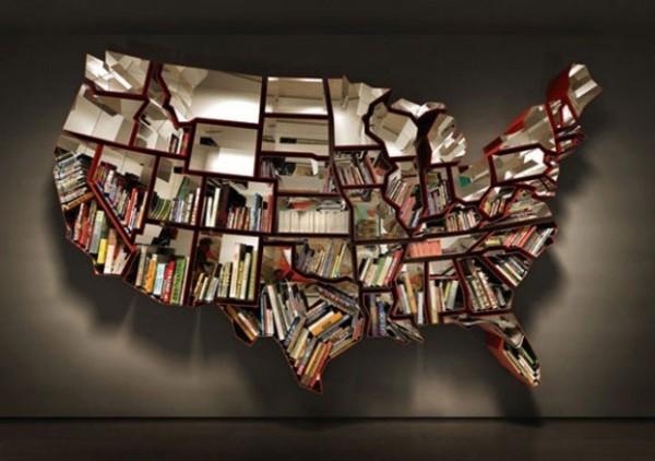 Modern Bookshelves